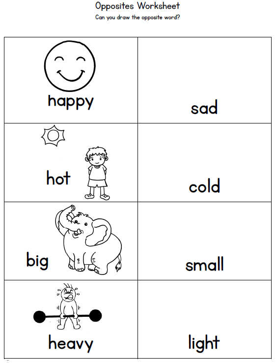 Connective Words Worksheets further Opposite Adjectives Worksheet ...